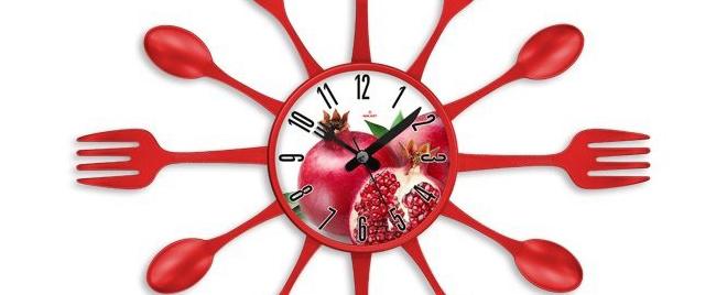 Kırmızı Mutfak Saati