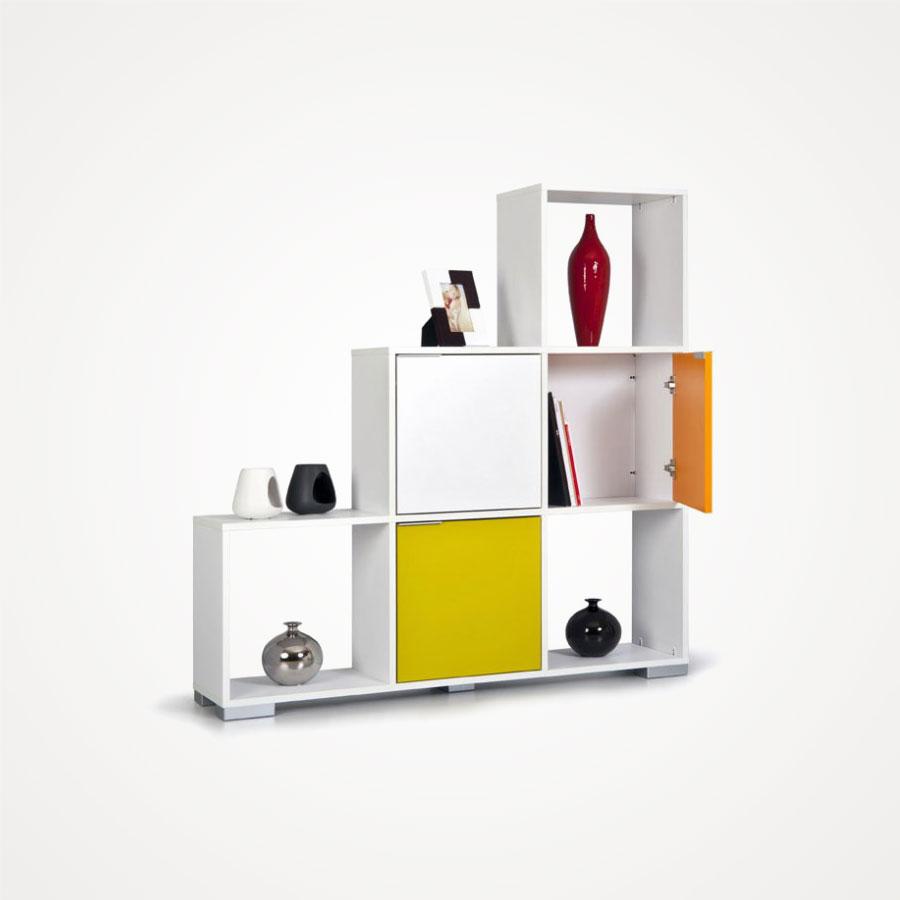 Kapaklı-Beyaz-Decolour-Koçtaş-Kitaplık-Tasarımı Koçtaş Kitaplık Modelleri