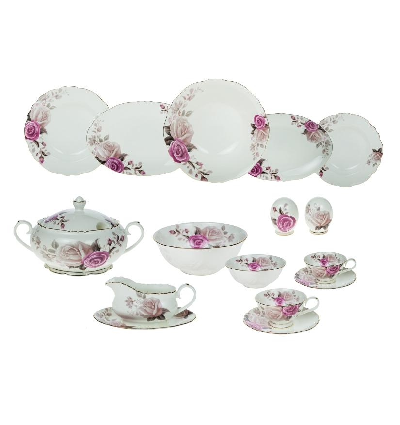 Karaca-Porselen-Yemek-Takımı-Modelleri-lavinya-fine-bone-84-parca-yemek-takimi- Karaca Porselen Yemek Takımı Modelleri
