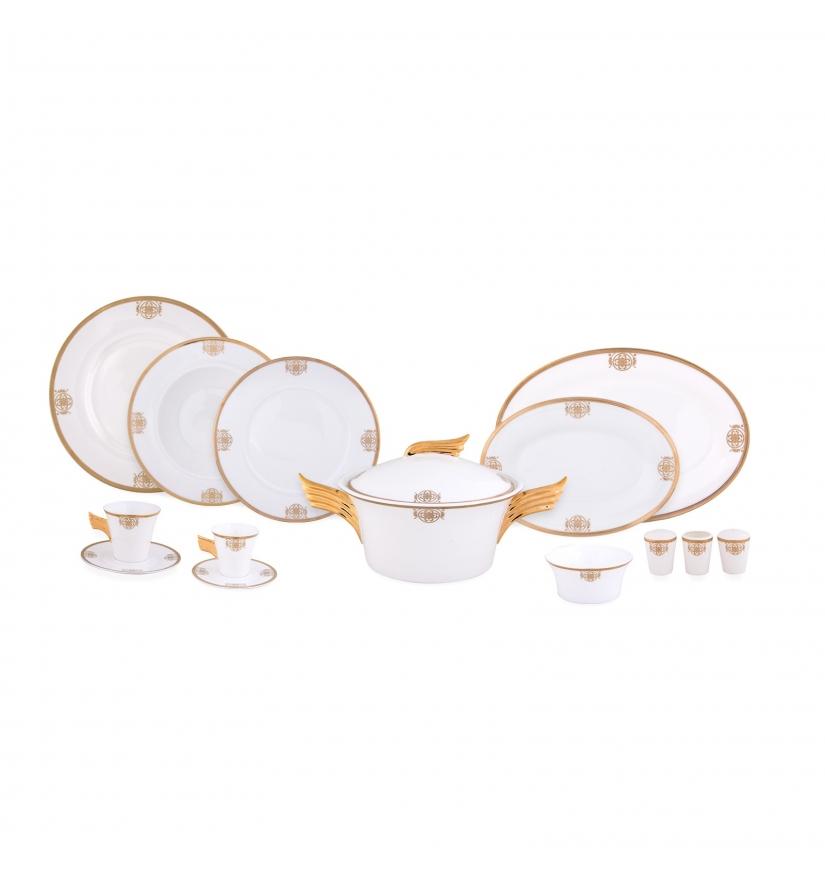 Karaca-Porselen-Yemek-Takımı-Modelleri-venus Karaca Porselen Yemek Takımı Modelleri