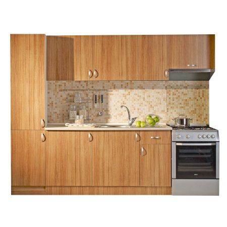 Koçtaş-Fantasia-Fix-Pavina-Teak-Mutfak-Seçenekleri-220-cm Koçtaş Mutfak Dolabı Modelleri