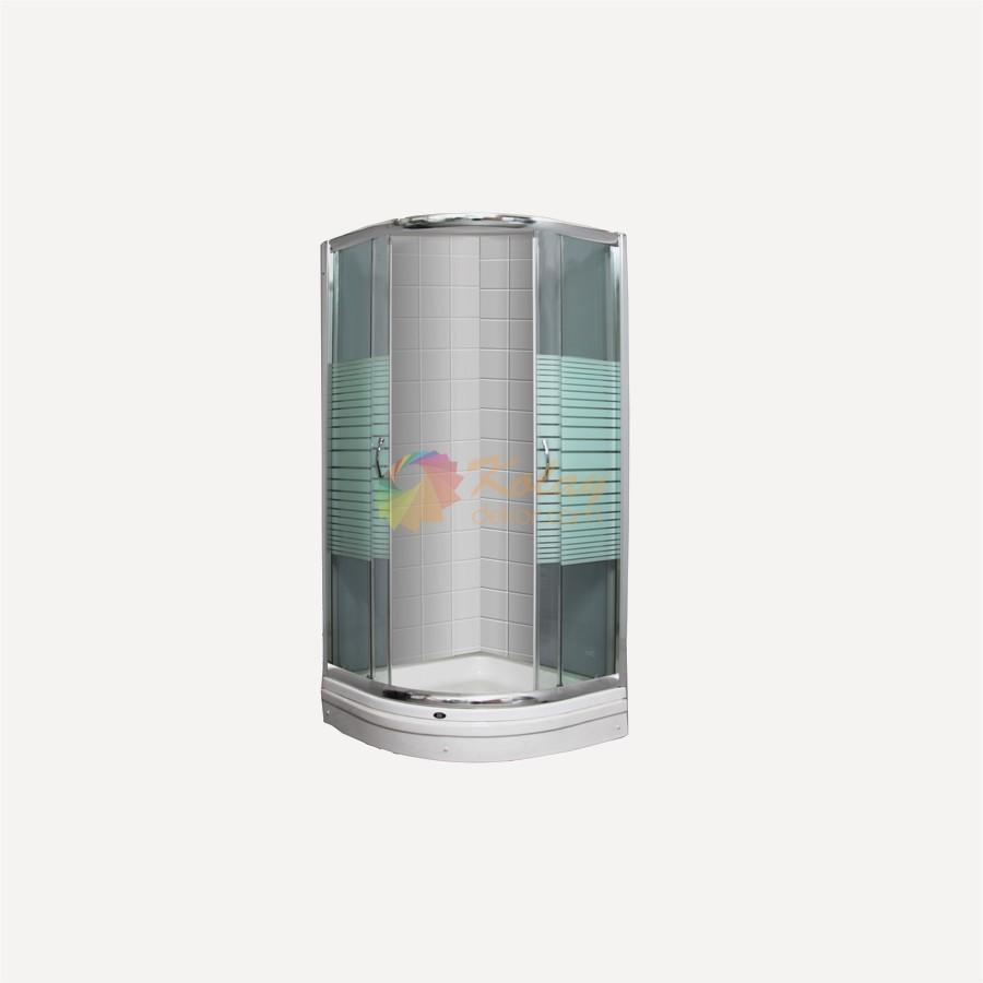 Koctas-Dusakabin-Modelleri-15-Merban-Kose-Dus-Teknesi-Cizgili-Temper-Kabin-90x90-cm Koçtaş Duşakabin Modelleri