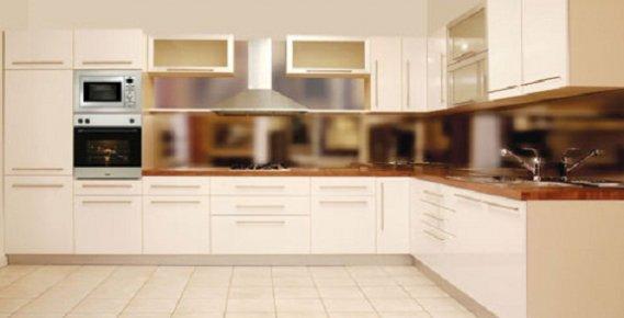 Krem Mutfak Tasarımı