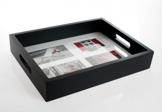 Limbo-Düz-Siyah-Resimli-Tepsiler Limbo Resimli Tepsi Modelleri