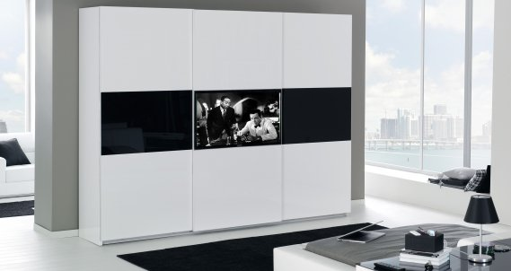 Marman lazzoni televizyonlu gardrop