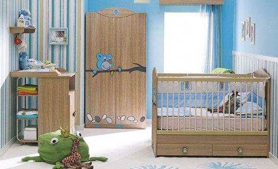 Mavi 2013 Bebek Odası Modeli
