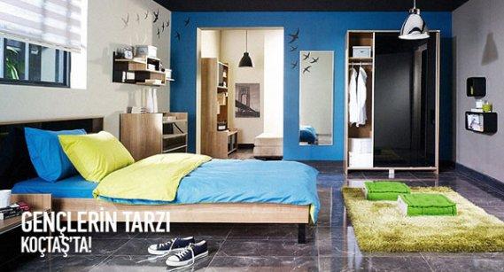 Mavi Koçtaş Genç Odası Modeli