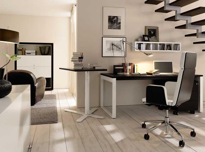 Merdiven-Altı-Home-Ofis-Mobilyası Home Ofis Mobilya Modelleri Örnekleri