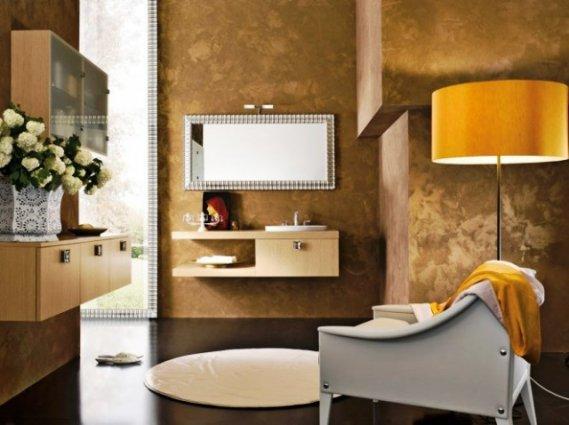 Modern-Banyo-Aynası-Örneği Modern Banyo Aynası Tasarımları