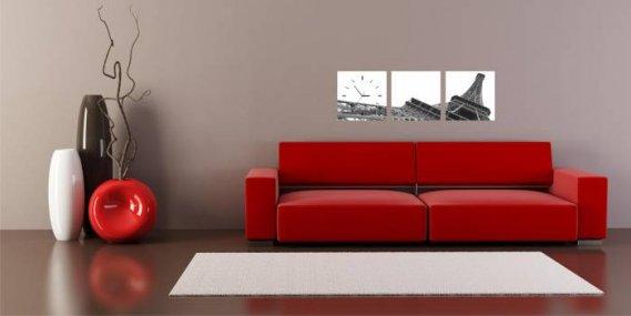 Modern-Canvas-Duvar-Saati Canvas Duvar Saati Modelleri