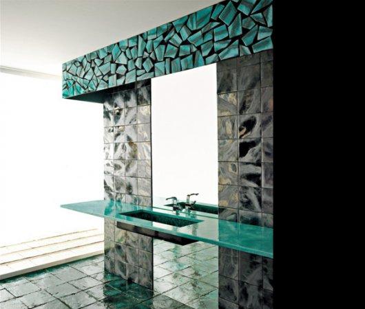 Modern-Franco-Pecchioli-Banyo-Tasarımı Franco Pecchioli Banyo Tasarımı