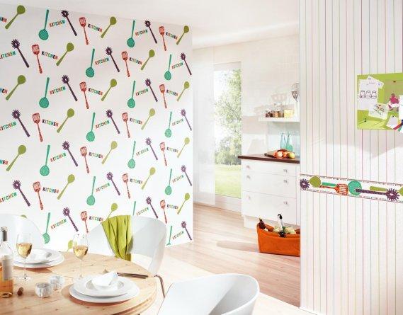 Modern Mutfak Duvar Kağıdı