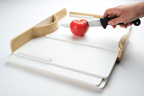 Modern-Mutfak-Kesme-Aksesuarı Gabriele Meldaikyte Engelliler İçin Tasarlanmış Mutfak Gereçleri