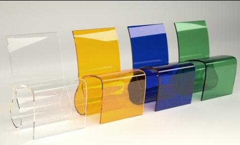 Modern-Renkli-Şeffaf-Sandalye-Tasarımları Şeffaf Sandalye Modelleri