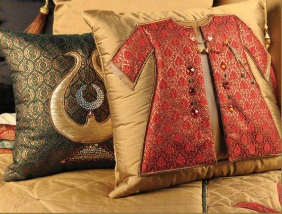 Osmanlı Desenli Kırlent Modeli