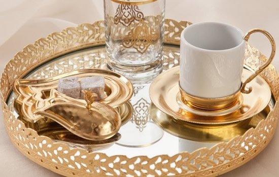 Osmanlı-Tarzı-Aksesuar-Kahve-Fincan-Seti Osmanlı Stili Aksesuar Dekor Ürünleri