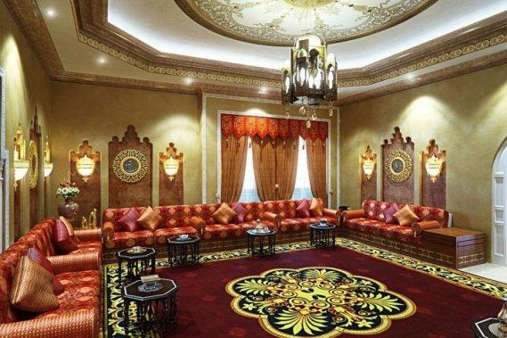 Osmanlı Tarzı Aksesuarlarla Süslenmiş Dekorasyon
