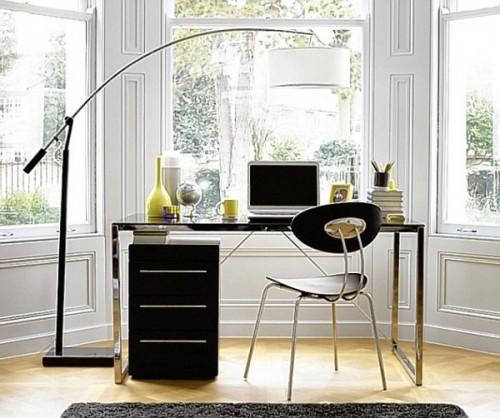 Pencere-Kenarı-Home-Ofis-Mobilya-Örneği Home Ofis Mobilya Modelleri Örnekleri