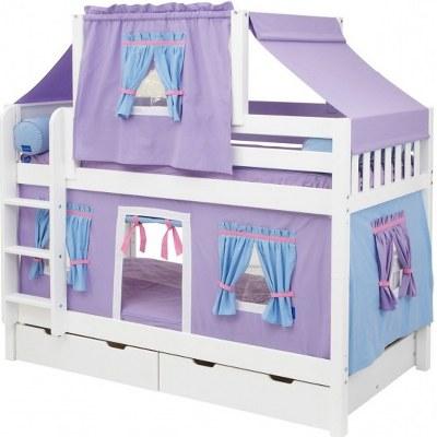 Pencere-ve-Kapılı-Çadırlı-Ranza Yeni Trend Çadırlı Ranza Modelleri