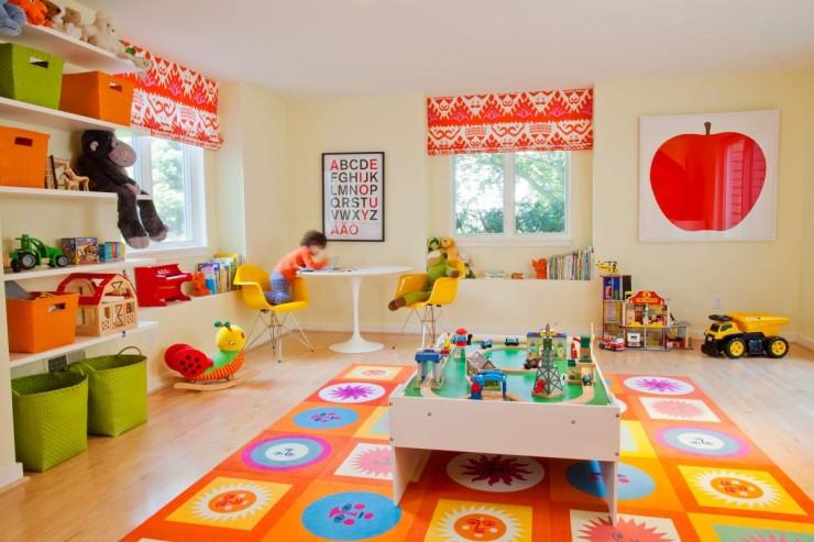 En Güzel Oyun Odası Dekorasyonu Örnekleri