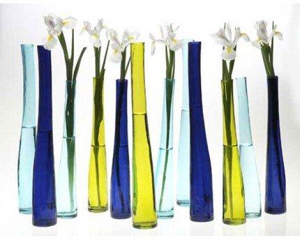 Renkli-Uzun-Cam-Vazo-Modelleri Uzun Cam Vazolar