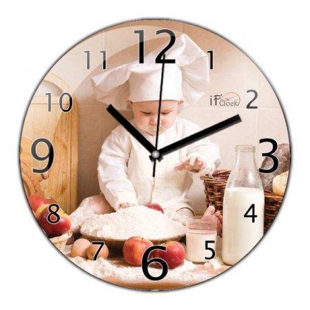 Resimli-Mutfak-Saati Modern Mutfak Saati Modelleri