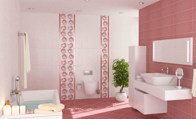 Rose-Çanakkale-Banyo-Seramik-Fayansı Çanakkale Seramik Banyo Fayans