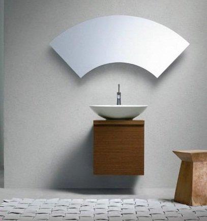 Sıradışı-Modern-Banyo-Ayna-Dizaynı Modern Banyo Aynası Tasarımları