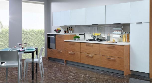 Selene-Bambu-Baia-Clear-Beyaz Kelebek Mutfak Modelleri 2018