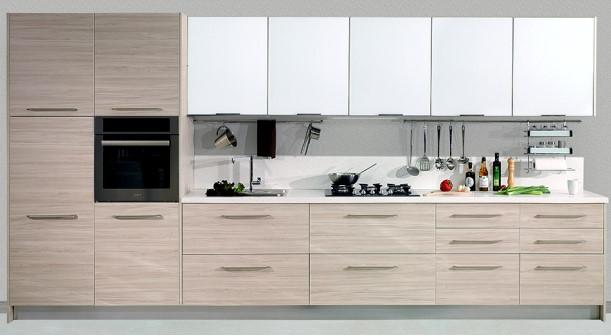 Selene-Beyaz-Erik Kelebek Mutfak Modelleri 2018