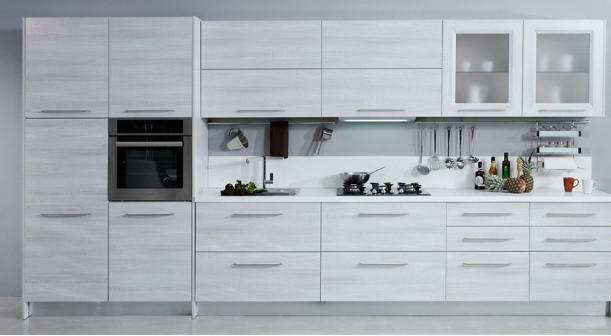 Selene-Rustik-Bej Kelebek Mutfak Modelleri 2018