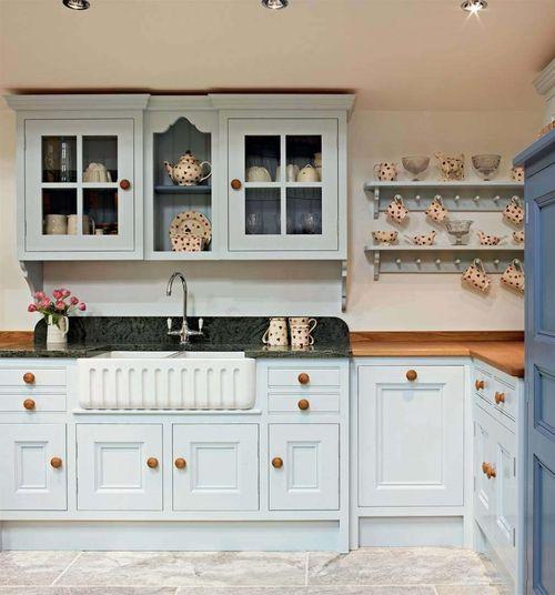 Vintage-Mutfak-Dolapları-1 Vintage Mutfak Modelleri