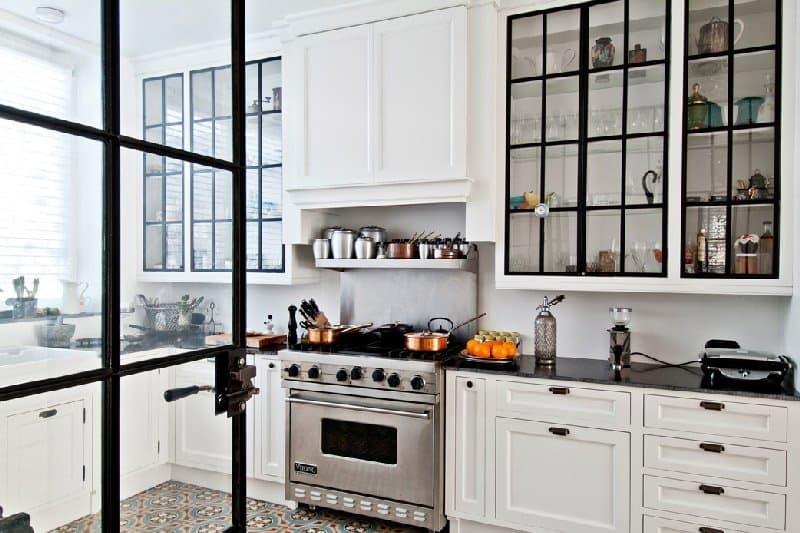 Vintage-Mutfak-Dolapları-11 Vintage Mutfak Modelleri