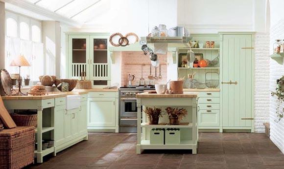 Vintage-Mutfak-Dolapları-15 Vintage Mutfak Modelleri