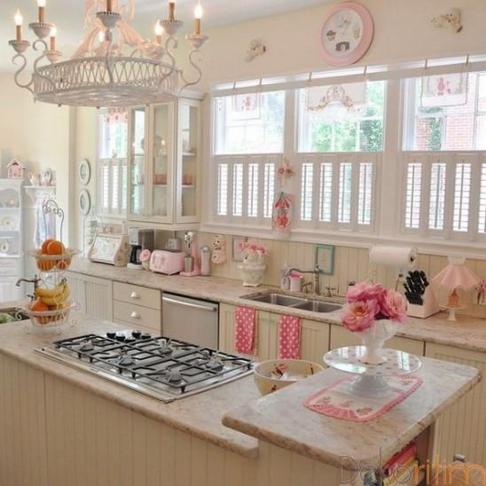 Vintage-Mutfak-Dolapları-18 Vintage Mutfak Modelleri