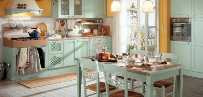 Vintage-Mutfak-Dolapları-3 Vintage Mutfak Modelleri
