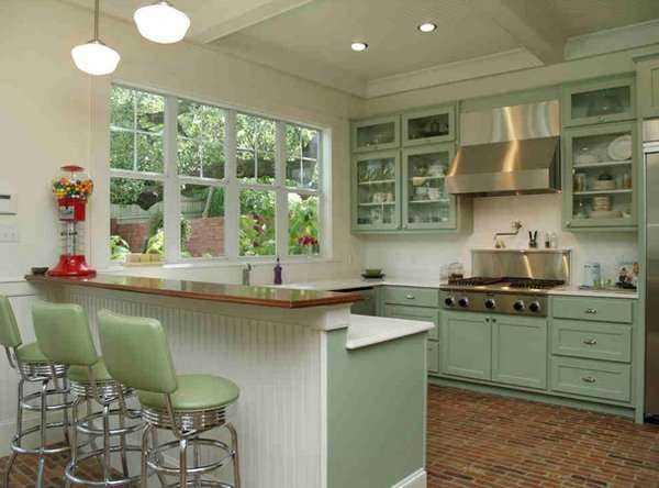 Vintage-Mutfak-Dolapları-4 Vintage Mutfak Modelleri