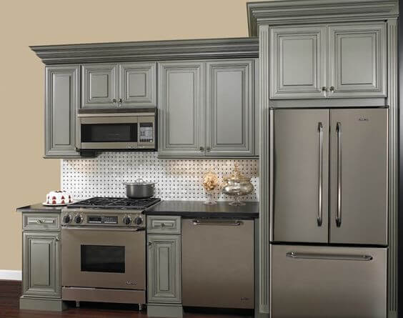 Vintage-Mutfak-Dolapları-9 Vintage Mutfak Modelleri