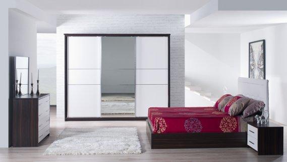 Yatak Odası Aynalı Sürgülü Gardrop Modelleri