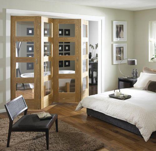 Yatak-Odası-Katlanır-Kapı-Tasarımı Katlanır Kapı Modelleri