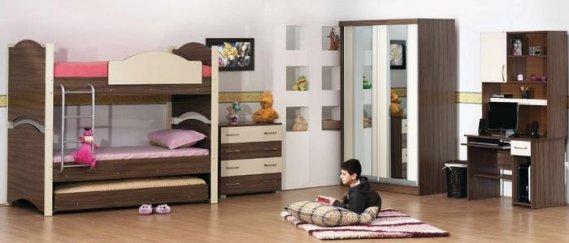 Yavru yataklı ranza modeli