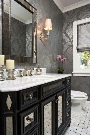 Yeni-Parlak-Banyo-Duvar-Kağıdı Banyo Duvar Kağıdı Modelleri