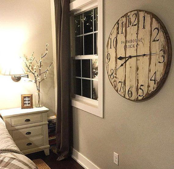 ahsap-dekoratif-duvar-saatleri Duvar Saati Dekorasyonda Nasıl Kullanılır