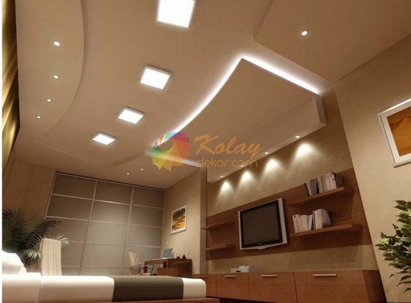 alcipan-asma-tavan-modelleri-2016-kolay-dekor-4 Alçıpan Asma Tavan Modelleri 2016