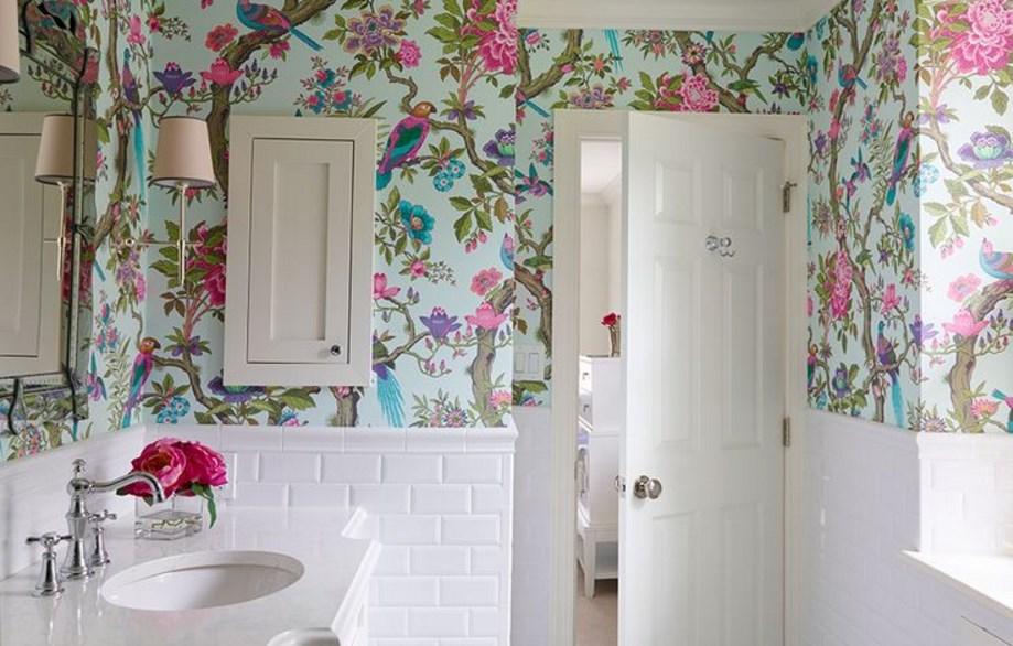 banyo-duvar-kagidi-modelleri-2016 Suya Dayanıklı Banyo Duvar Kağıdı Modelleri