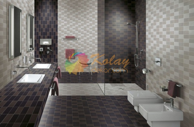 banyo-icin-renkli-fayans-modelleri-2016-kolay-dekor-23 Banyo için Fayans Modelleri