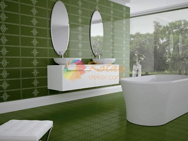 banyo-icin-renkli-fayans-modelleri-2016-kolay-dekor-34 Banyo için Fayans Modelleri