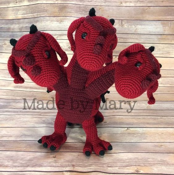 beautiful-amigurumi-amigurumi-crochet-dragon-chico-free-pattern-24 Amigurumi Tığ işi Dragon Chico Ücretsiz Desen