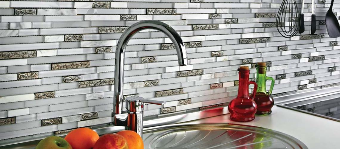 cam-mozaik-modelleri-4 Mutfak tezgah arası cam mozaik modelleri