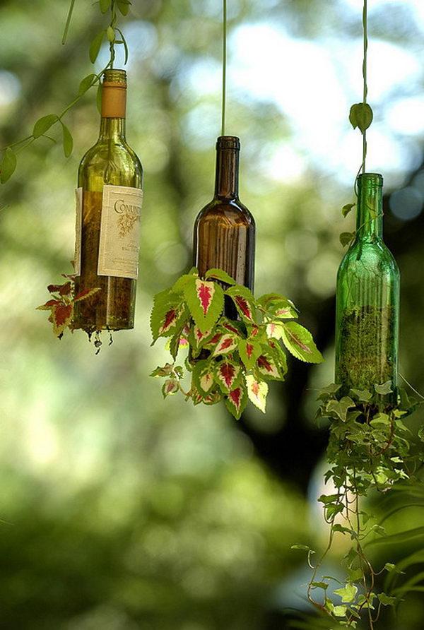 cam-siselerden-dekoratif-saksılı-cam-şişleri-değerlendirme-modeli-8 Dekoratif cam şişe nasıl yapılır?